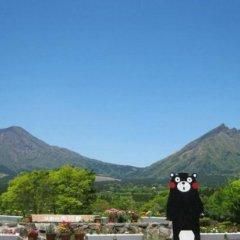 Отель Kyukamura Minami-Aso National Park Resort Villages Of Japan Минамиогуни приотельная территория