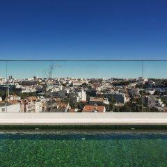 Отель Memmo Principe Real Лиссабон бассейн