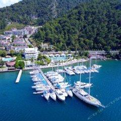 Yacht Classic Hotel - Boutique Class Турция, Гёчек - отзывы, цены и фото номеров - забронировать отель Yacht Classic Hotel - Boutique Class онлайн пляж фото 3