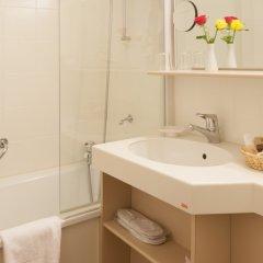 Отель Central Swiss Quality Sporthotel Швейцария, Давос - отзывы, цены и фото номеров - забронировать отель Central Swiss Quality Sporthotel онлайн ванная фото 2