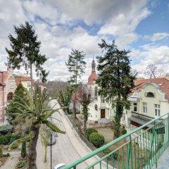 Апартаменты Dom&House-Apartment Monte Cassino Family Сопот балкон