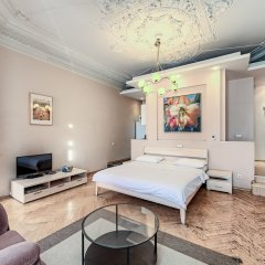Апартаменты Oksana's Санкт-Петербург комната для гостей фото 5