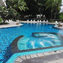 Отель Welcome Plaza Паттайя бассейн