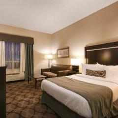 Отель Best Western Plus Travel Hotel Toronto Airport Канада, Торонто - отзывы, цены и фото номеров - забронировать отель Best Western Plus Travel Hotel Toronto Airport онлайн комната для гостей фото 4