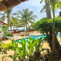 Отель Lamai Chalet Таиланд, Самуи - отзывы, цены и фото номеров - забронировать отель Lamai Chalet онлайн бассейн