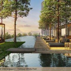 Отель Oakwood Premier OUE Singapore бассейн фото 2