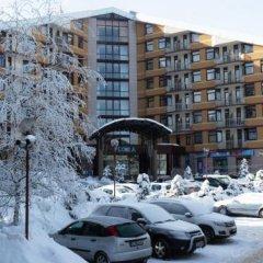 Апартаменты Flora Apartments Боровец парковка