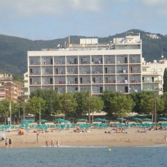 Отель Mont-Rosa пляж