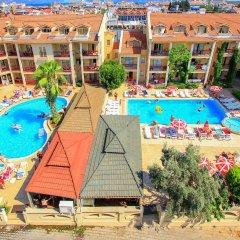 Club Amaris Apartment Турция, Мармарис - 1 отзыв об отеле, цены и фото номеров - забронировать отель Club Amaris Apartment онлайн балкон