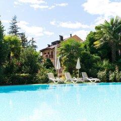 Hotel Thurnergut Меран бассейн