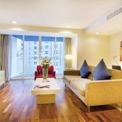 Отель Urbana Langsuan Bangkok, Thailand Таиланд, Бангкок - 1 отзыв об отеле, цены и фото номеров - забронировать отель Urbana Langsuan Bangkok, Thailand онлайн комната для гостей фото 2