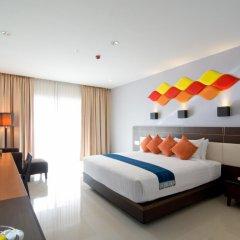 Отель Welcome World Beach Resort & Spa Таиланд, Паттайя - отзывы, цены и фото номеров - забронировать отель Welcome World Beach Resort & Spa онлайн комната для гостей фото 2