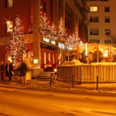 Отель Hauser Swiss Quality Hotel Швейцария, Санкт-Мориц - отзывы, цены и фото номеров - забронировать отель Hauser Swiss Quality Hotel онлайн городской автобус