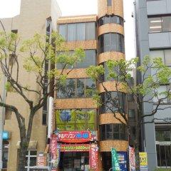 Отель AMP FLAT Nishijin 2F Фукуока вид на фасад