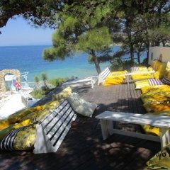 Club Mackerel Holiday Village Турция, Карабурун - отзывы, цены и фото номеров - забронировать отель Club Mackerel Holiday Village онлайн пляж
