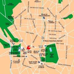 Отель Palacio San Martin Мадрид городской автобус