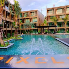 Отель The Pixel Cape Panwa Beach Таиланд, Пхукет - отзывы, цены и фото номеров - забронировать отель The Pixel Cape Panwa Beach онлайн бассейн