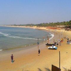 Отель Ocean Waves Goa Holiday Гоа пляж