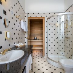 Hestia Hotel Barons ванная