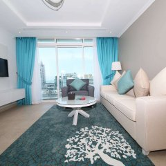 Отель Jannah Marina Bay Suites комната для гостей фото 4