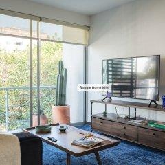 Апартаменты Bright 2BR Condesa Apartment With Balcony Мехико детские мероприятия