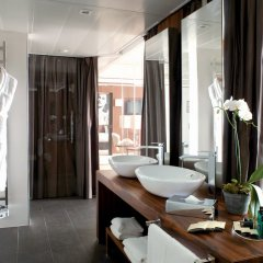 Отель JW Marriott Cannes Франция, Канны - 2 отзыва об отеле, цены и фото номеров - забронировать отель JW Marriott Cannes онлайн ванная фото 2