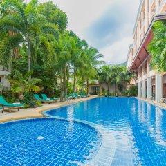 Отель Thanthip Beach Resort бассейн фото 3
