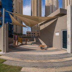 Отель Marina Promenade – Delphine Tower/Dubai Marina 1BR Luxury Apt Sea View Sleeps 3 - HLS 37921