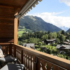 Отель Park Gstaad Швейцария, Гштад - отзывы, цены и фото номеров - забронировать отель Park Gstaad онлайн балкон