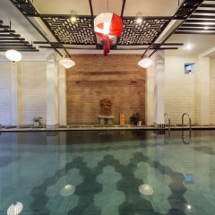 Отель Thien Thanh Boutique Хойан бассейн фото 3