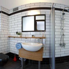 Hush Hostel Moda Стамбул ванная