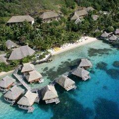 Отель Maitai Polynesia Французская Полинезия, Бора-Бора - отзывы, цены и фото номеров - забронировать отель Maitai Polynesia онлайн бассейн фото 2