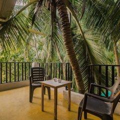 Отель OYO 17365 Home Peaceful 1BHK Mandrem Индия, Северный Гоа - отзывы, цены и фото номеров - забронировать отель OYO 17365 Home Peaceful 1BHK Mandrem онлайн балкон