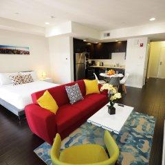 Отель Downtown Cosmopolitan Residences США, Лос-Анджелес - отзывы, цены и фото номеров - забронировать отель Downtown Cosmopolitan Residences онлайн комната для гостей фото 5
