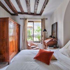Отель Superbe appartement Saint-Paul - Le Marais Париж комната для гостей фото 3