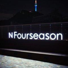 Отель N Fourseason Hotel Myeongdong Южная Корея, Сеул - отзывы, цены и фото номеров - забронировать отель N Fourseason Hotel Myeongdong онлайн бассейн фото 2