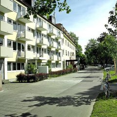 Отель Frederics München City Olympiapark Германия, Мюнхен - отзывы, цены и фото номеров - забронировать отель Frederics München City Olympiapark онлайн