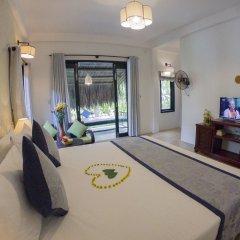 Отель An Bang Garden Homestay комната для гостей