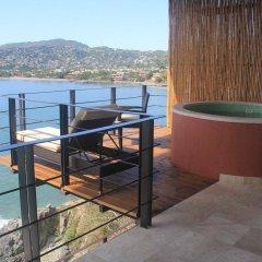 Отель Casa Sandbar Мексика, Сиуатанехо - отзывы, цены и фото номеров - забронировать отель Casa Sandbar онлайн балкон