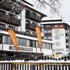 Отель MPM Hotel Sport Болгария, Банско - отзывы, цены и фото номеров - забронировать отель MPM Hotel Sport онлайн балкон