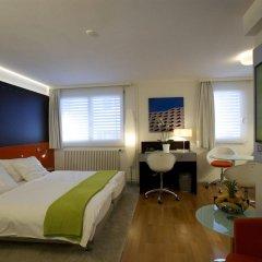 Отель Design Hotel F6 Швейцария, Женева - отзывы, цены и фото номеров - забронировать отель Design Hotel F6 онлайн комната для гостей фото 4