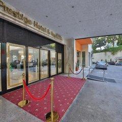 Prestige Hotel and Aquapark вид на фасад