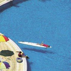 Iz Flower Side Beach Hotel All Inclusive Турция, Сиде - отзывы, цены и фото номеров - забронировать отель Iz Flower Side Beach Hotel All Inclusive онлайн приотельная территория фото 2