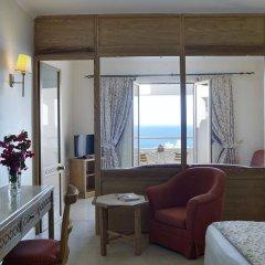 Отель Mitsis Family Village Beach Hotel Греция, Калимнос - отзывы, цены и фото номеров - забронировать отель Mitsis Family Village Beach Hotel онлайн комната для гостей фото 5