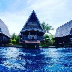 Отель Oa Oa Lodge Французская Полинезия, Бора-Бора - отзывы, цены и фото номеров - забронировать отель Oa Oa Lodge онлайн приотельная территория фото 2