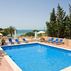 Отель Apartamentos Do Parque Португалия, Албуфейра - отзывы, цены и фото номеров - забронировать отель Apartamentos Do Parque онлайн бассейн фото 2