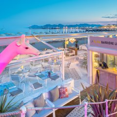Hotel Barriere Le Gray d'Albion Канны балкон