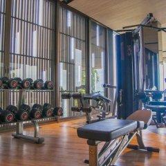 Отель Baan Plai Haad Beachfront Condominium Паттайя фитнесс-зал