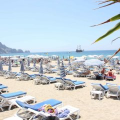 Отель Cleopatra Golden Beach Otel - All Inclusive пляж