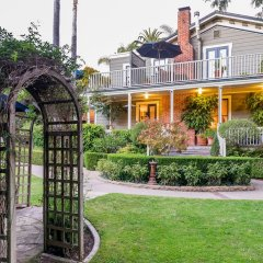 Отель Simpson House Inn США, Санта-Барбара - отзывы, цены и фото номеров - забронировать отель Simpson House Inn онлайн вид на фасад